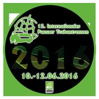 """Aufkleber Motiv """"12. PTR 2016"""""""