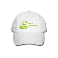 "Basecap Motiv ""Pausaer Trabantrennen"" in grün"