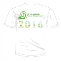 """T-Shirt mit V-Neck Halsausschnitt Motiv """"12. PTR 2016"""""""